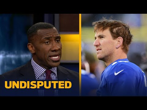 Shannon Sharpe: The Giants are not disrespecting Eli Manning by benching him | UNDISPUTED