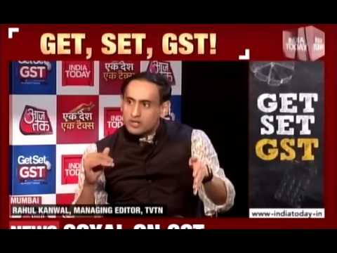 Speaking on GST with India Today