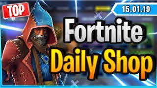 Fortnite Daily Shop *MAGIER* CASTOR & ELMIRA SKIN (15 January 2019)
