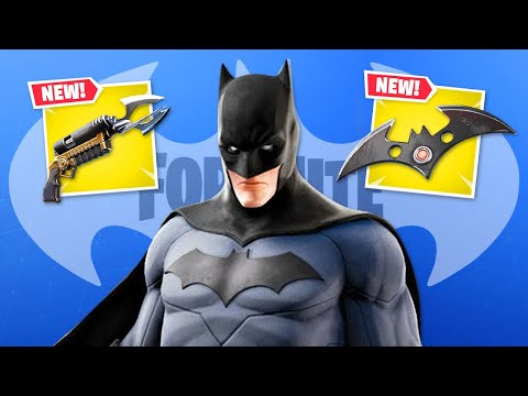 BATMAN Is HERE In Fortnite!