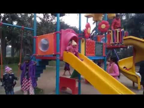 Fun At Children Park | Kids Playground | Playing Outdoor Game | Playground Equipment