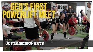 Geo's First Powerlifting Meet(Our Other Channels: Barbell Brigade Apparel: http://barbellbrigade.com Barbell Brigade Training Facility: http://barbellbrigade.com Follow Geo: YouTube: ..., 2014-04-03T07:38:00.000Z)