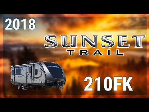 2018 CrossRoads Sunset Trail Super Lite 210FK Travel Trailer RV For Sale TerryTown RV Superstore