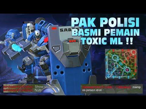 PAK POLISI Basmi Pemain TOXIC ML !! // JOHNSON NEW RUTE