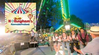 Nottingham Riverside Festival Fun Fair Vlog   August 2019