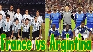 World Cup Knock Out! France VS Argentina