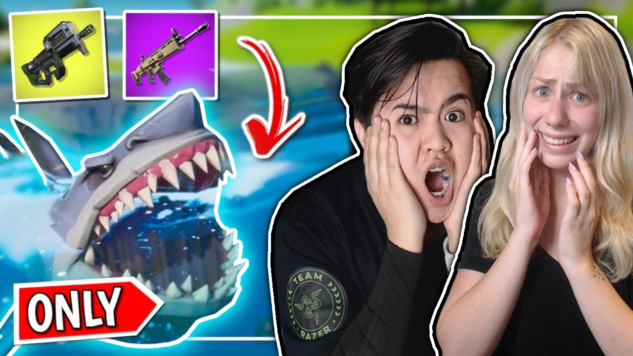 Shark *ONLY* loot med t0nse