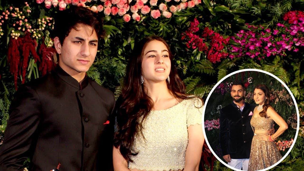 Ibrahim ali khan at saif wedding pictures
