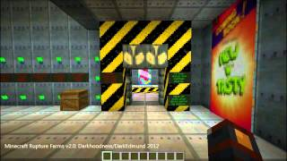Minecraft: Rupture Farms Adv. Map - Early Intro Areas (Dead project)