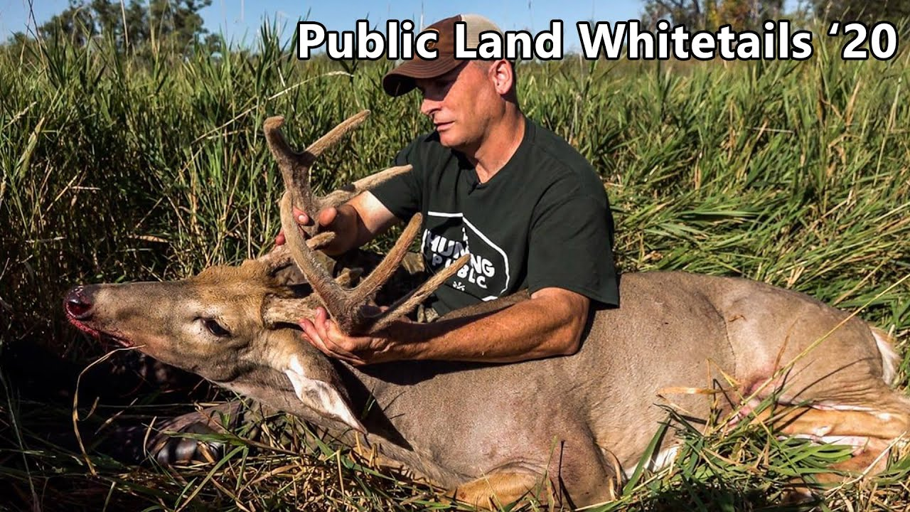 Opening Day Buck In Nebraska - Public Land Whitetails