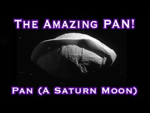 "Saturn's Moon ""Pan"" Has Strange / Amazing Features!"