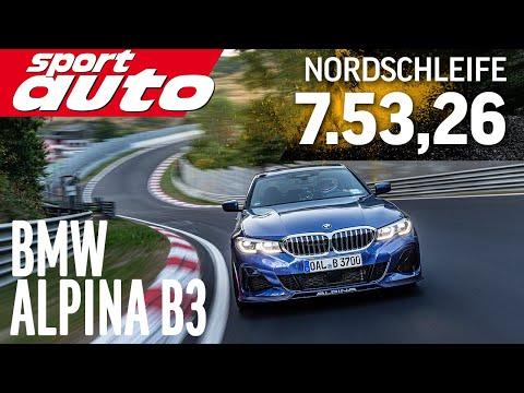 BMW Alpina B3   HOT LAP Nordschleife 7.53,26 min   sport auto