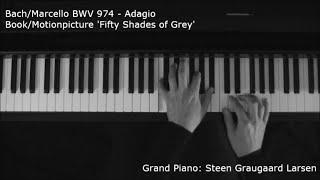 Bach Marcello BWV 974 Adagio Piano Cover Fifty Shades Of Grey
