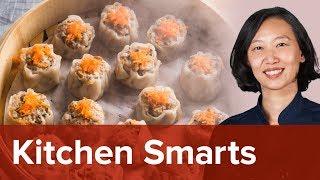 How to Shape Chinese Dumplings: Wontons and Shu Mai