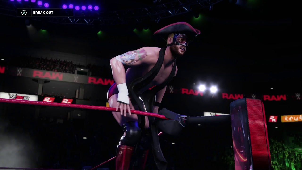 WWE 2K18: Alex Haze - Attire One