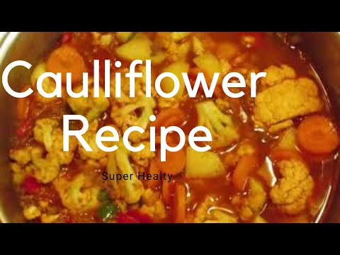 Turkish Style Caulliflower Recipe / How to cook cauliflower in Turkey
