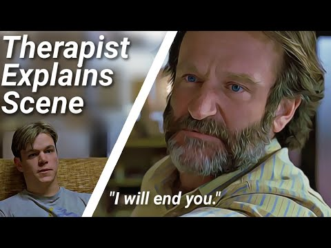 Good Will Hunting Scene Explained By Therapist |