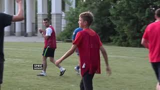 Mozzart Sport - Kaliningrad prijateljski fudbalski meč  navijača Srbije i Baltike.