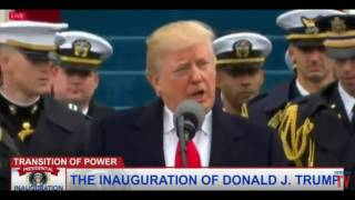 "President Donald J.Trump Inaugral Address: ""Giving Power BACK to The PEOPLE"" 1/20/2017"