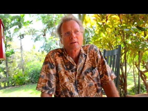 45 year veteran organic farmer - John Wooten - Kauai island