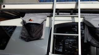 A few fixes to my Autohome Maggiolina Airlander tent