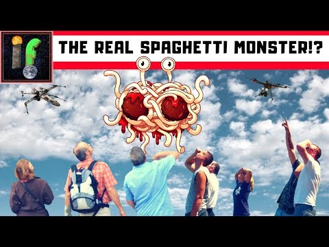 Cryptozoology. The Flying Jellyfish And The Spaghetti Monster (FSM)