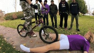 Girl painful fails compilation