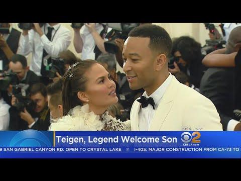 Chrissy Teigen, John Legend Welcome Baby Boy