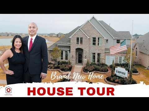 Luxury House Tour | Empire Homes | League City, Tx