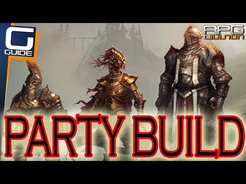 DIVINITY ORIGINAL SIN 2 - FULL PHYSICAL DAMAGE PARTY BUILD