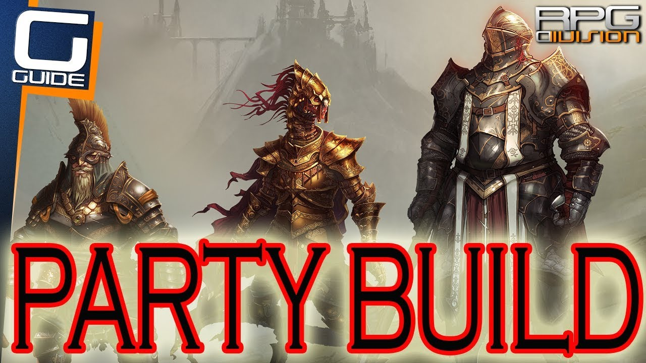 Divinity Original Sin 2 Full Physical Damage Party Build Youtube