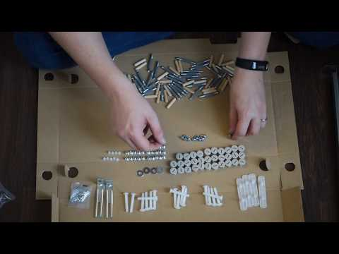 HOW-TO Ikea MALM 4-drawer full assembly