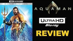 AQUAMAN 4K Blu-ray Review | Digital or Physical Bluray?