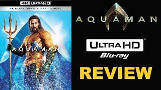 AQUAMAN 4K Blu-ray Review | Digital or Physical Bluray?