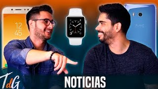 Noticias: Galaxy J5 y C10, HTC U11, OnePlus 5 y Apple Watch 3