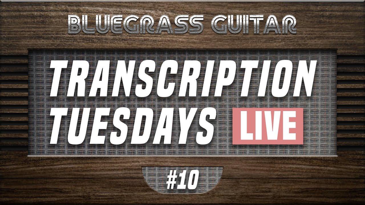 Transcribing Tony Rice's Ain't Nobody Gonna Miss Me When I'm Gone Guitar Break!