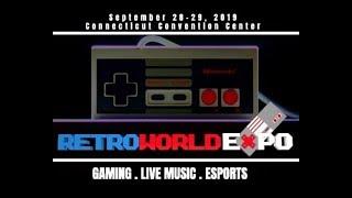 RETRO WORLD EXPO 2019 - RETRO GAMING ARTS