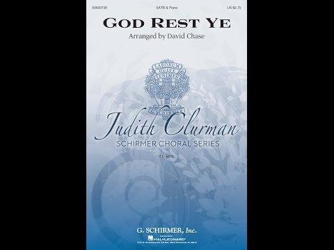 God Rest Ye - Arranged by David Chase