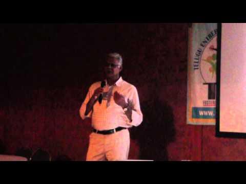 Rajasekhar Reddy Seelam of Sresta 24 Hour Organic Mantra speaking at TEA Dallas on 9/25/2015