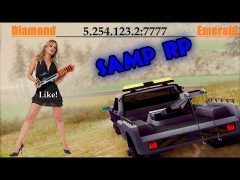 9# Samp Diamond Rp Emerald Работаем майстер ламайстер