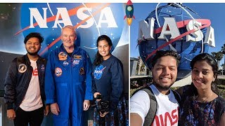 അങ്ങനെ ഞങ്ങൾ നാസയിൽ എത്തി !! 😍😍 NASA - Kennedy Space Center | Malayalam Travel Vlog | Trip Couple