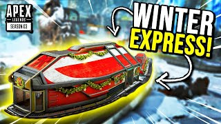 TRYING OUT THE NEW WINTER EXPRESS GAME MODE!