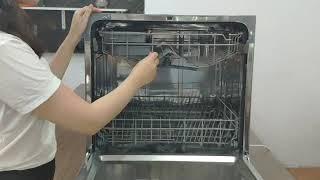 Review chi tiết máy rửa bát FUJISHAN 8 bộ mã FJVN08-S07F. FUJISHAN dishwasher review