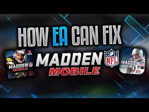How EA Can Fix Everything WRONG With Madden Mobile 17