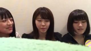 佐藤七海・舞木香純・谷川聖 2016年12月29日のSR.