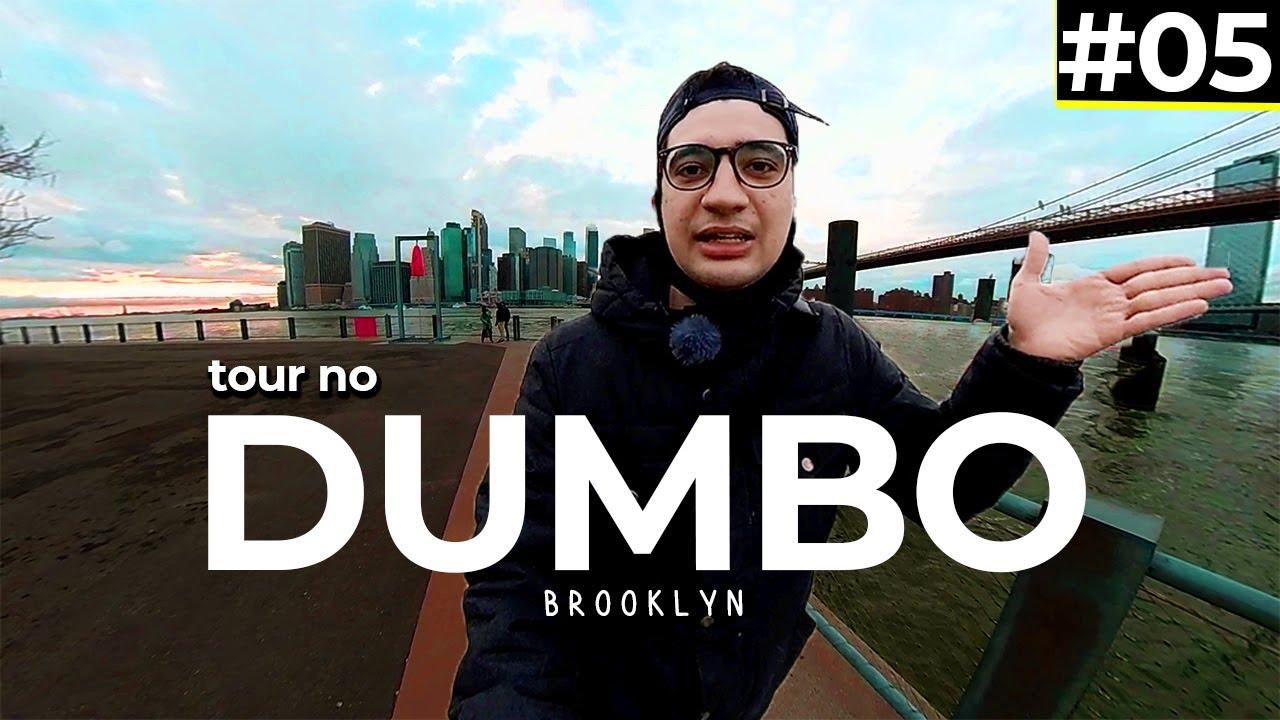 ex Bairro Industrial do Brooklyn hoje tem Aptos de $10.000,00/mês 😱 | As Faces de NY, Dumbo #05