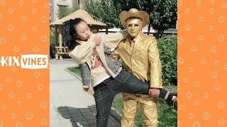 Funny videos 2019 ✦ Funny pranks try not to laugh challenge P81