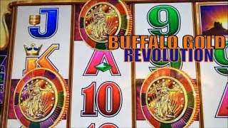★NEW BUFFALO GOLD !!☆BUFFALO GOLD REVOLUTION Slot machine (Aristocrat)  Free Play Live @ San Manuel