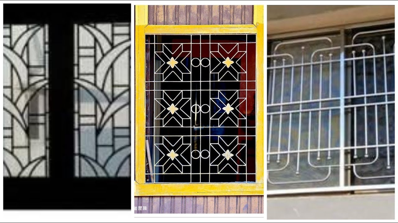 New Beautifull Modern Metal Steel Grill Windows Design Images Youtube
