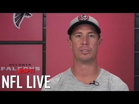 Matt Ryan Explains Joy Of Julio Jones' First TD, Falcons' Recent Hot Stretch   NFL Live